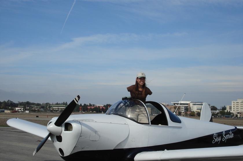 On the plane, Sky Sprite