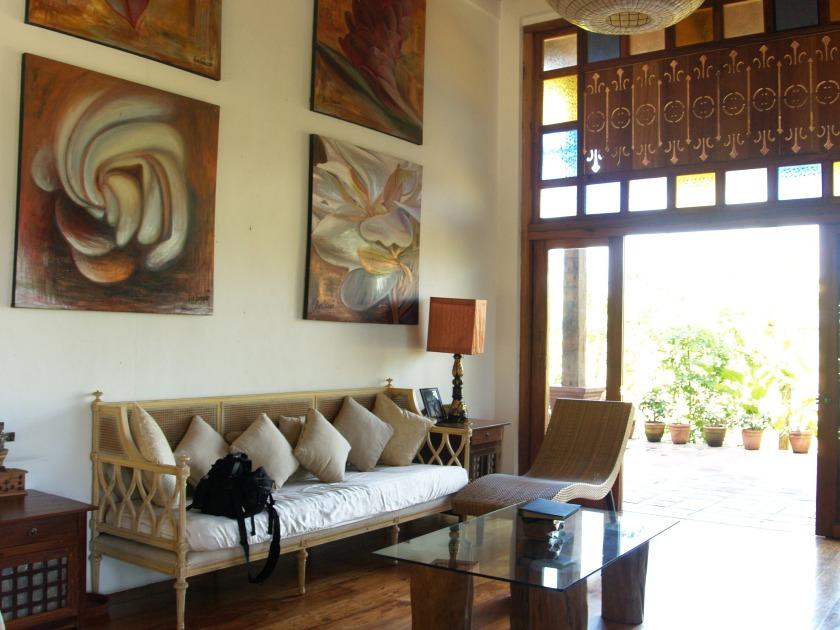 At the artist's house. Pampanga photos by Sarene Joseph