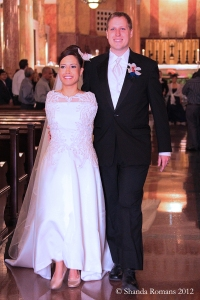 Jessica and Patrick's wedding, May 12, 2012.