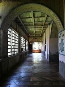 Lazi Convent hallway