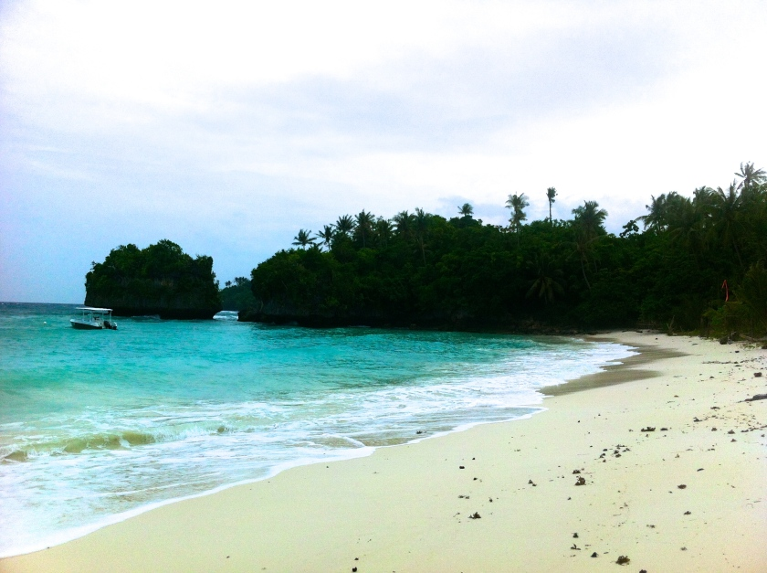 The quiet beachfront of Amun Ini Resort, Anda's lone high-end accommodation, is perfect for those who don't like to share their piece of paradise.