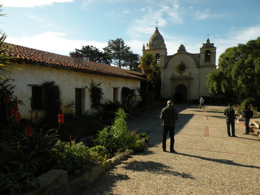 The San Carlos Borroméo de Carmelo Mission was built in 1771