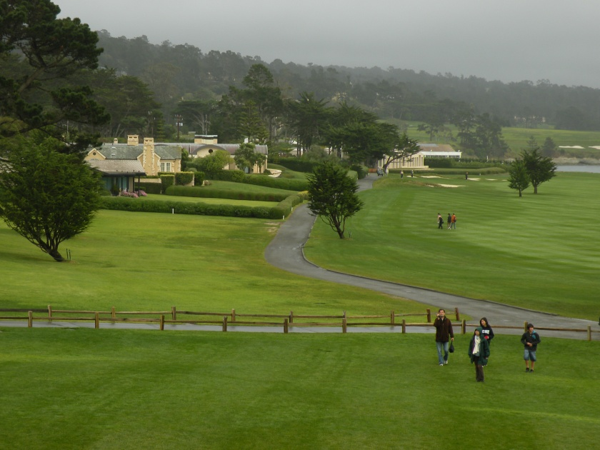 Pebble Beach Golf Course, named the Greatest Public Golf Course in America, hosts many celebrity and professional tournaments.